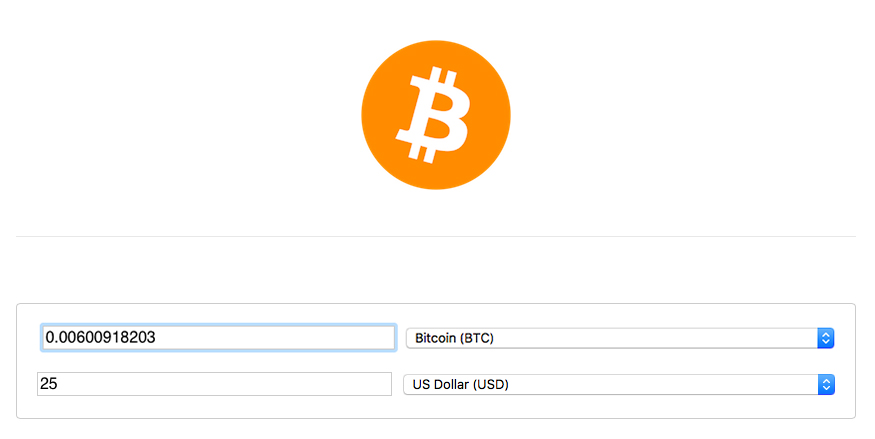 Click here for a BTC Calculator!